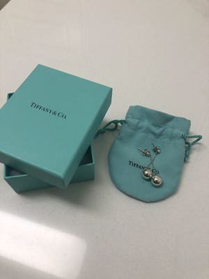 Tiffany's Bead Drop Earrings - Sterling Silver for Sale in Tracy, CA