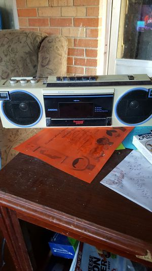 Ambience old school working boom box for Sale in Englewood, CO