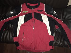 Motorcycle Jacket, Kawasaki for Sale in Lynnwood, WA