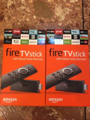 Amazon firestick w/ Alexa voice remote for Sale in St. Louis, MO