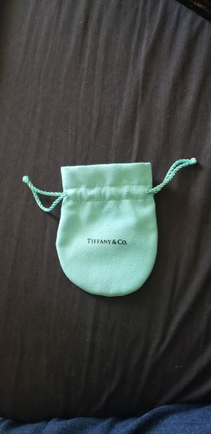 Tiffany and Co jewelry dust pouch for Sale in Portland, OR