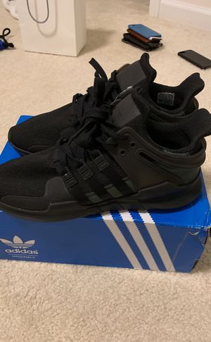 Adidas EQT Black Size 9 US for Sale in Aldie, VA