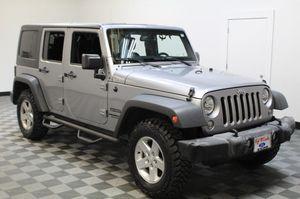 2016 Jeep Wrangler Unlimited for Sale in San Antonio, TX