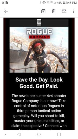 Rogue company PC key for Sale in Vienna, MD