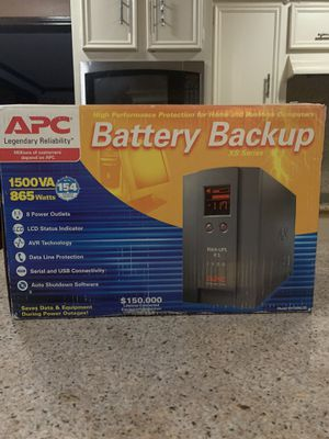 Battery back up APC XS1500 for Sale in Houston, TX