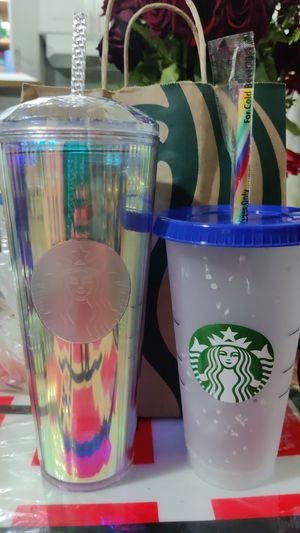 Starbucks confetti and unicorn 🦄 cup for Sale in Los Angeles, CA