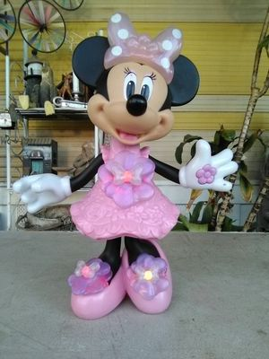 11 Inch Talking Minnie Mouse Interactive Light-Up Hard Plastic Doll. L@@K!!! for Sale in Mesa, AZ