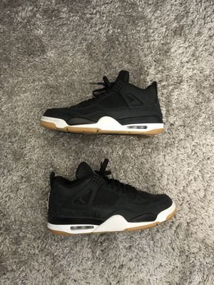 JORDAN 4 RETRO LASER BLACK GUM for Sale in Modesto, CA
