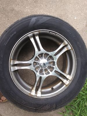 Muliti bolt five lug rims for Sale in Tuscola, MI