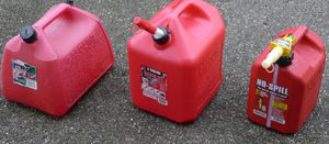 Gallon gas cans containers. for Sale in Centreville, VA