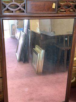 Vintage Kindel Grand Rapids, MI Mahogany Wall Mirror Oxford Finish for Sale in Baltimore,  MD