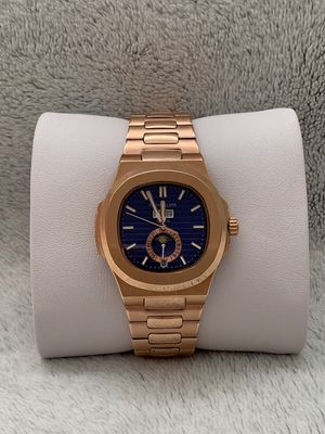 PP Watch - Brand New Men's Wrist Watch - Blue Dial Day/Date Phase - Stainless Steel Automatic Watch for Sale in Chicago, IL