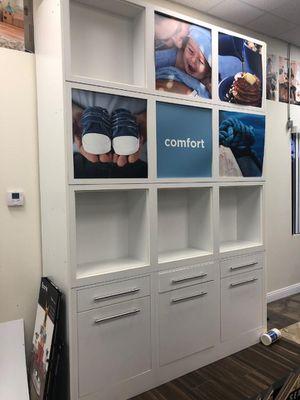 Showroom/Storefront Shelves/Cabinet Displays for Sale in Las Vegas, NV