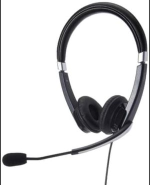 Jabra UC Voice 550 Duo Headset Conference Call Microphone USB for Sale in Saginaw, TX