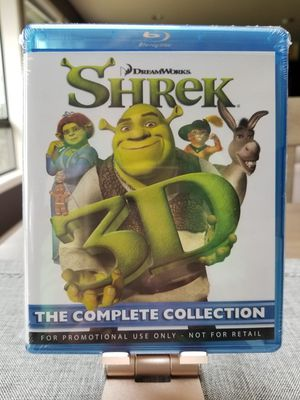 3D Shrek Movies, The Complete Collection, Brand New, Factory Sealed for Sale in Maple Valley, WA