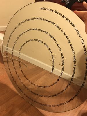 Inspirational Rounded Mirror for Sale in Phoenix, AZ