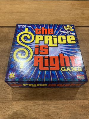 The Price is Right Board Game 2nd Edition Family Fun Night Complete Excellent for Sale in Fremont, CA