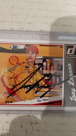 Joey Logano autograph card for Sale in Jacksonville, FL