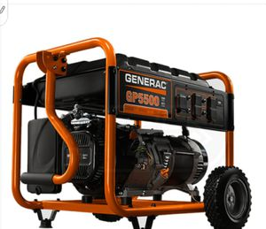 Almost new generic 5000 generator for Sale in Fresno, CA