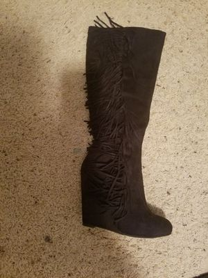 Sexy fringe wedge heel boots for Sale in Altoona, IA