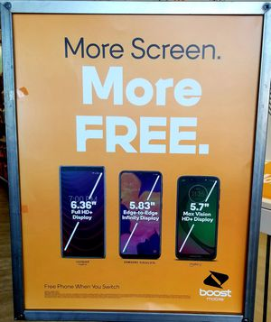 When you switch to Boost Mobile get a free for Sale in Norfolk, VA
