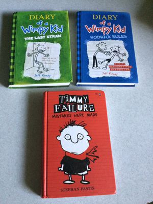 Diary of a wimpy kid / Timmy failure books for Sale in Grand Rapids, MI