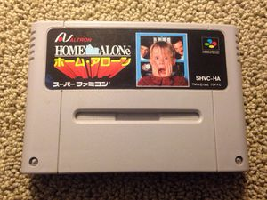 Home Alone Super Famicom video game Japanese import SNES Nintendo for Sale in Seattle, WA