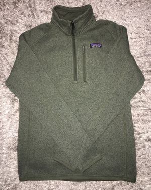NEW Patagonia Men's Green 1/4 Zip Better Sweater Pullover Small for Sale in Chicago, IL