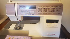 Janome New Home Memory Craft 7500 sewing machine for Sale in Lynchburg, VA