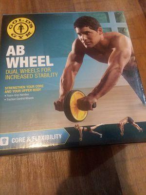 Gold's Gym Ab Wheel for Sale in Elizabeth, WV