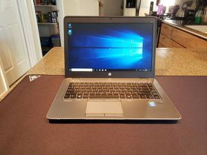 HP Elitebook 840 G2/i5-5200u/16gbram/120gbSSD/WIN10 for Sale in Anchorage, AK