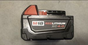 Milwaukee battery for Sale in Tempe, AZ