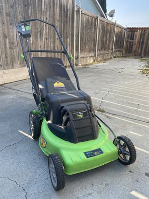 Battery powered cordless lawn mower for Sale in San Jose, CA