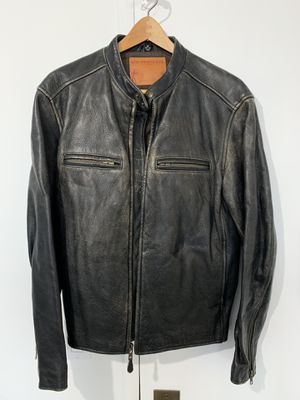 Levi's vintage leather motorcycle jacket M for Sale in New York, NY