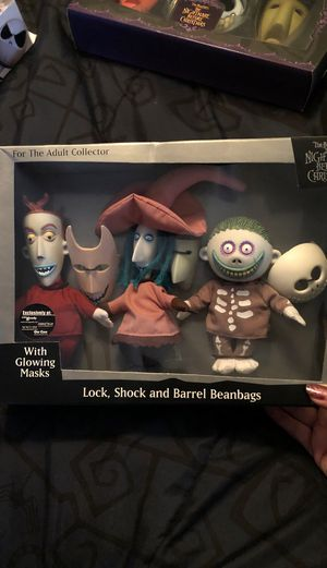 Nightmare before Christmas bean bags Lock Shock and Barrel for Sale in Chino Hills, CA