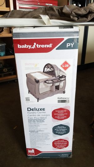 Baby nursery center pack and play for Sale in San Jose, CA