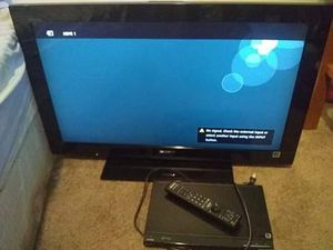 32 inch Bravia sony tv with Sony DVD player for Sale in Lansing, MI