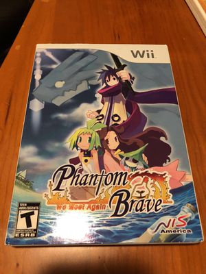 Wii Game Phantom Brave We Meet Again for Sale in Seattle, WA