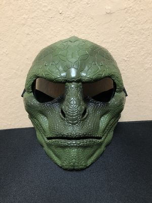 Hasbro The Lizard Mask/ Halloween Mask -From Sipder-Man for Sale in Largo, FL