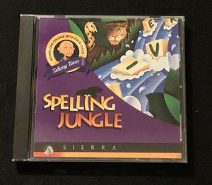 Spelling Jungle old PC game for Sale in Duluth, GA