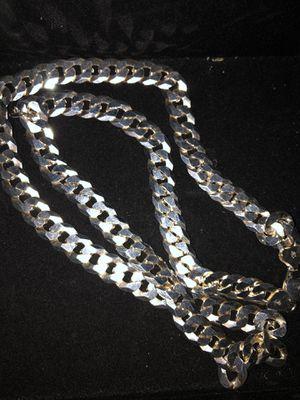 Silver Cuban link for Sale in Chula Vista, CA