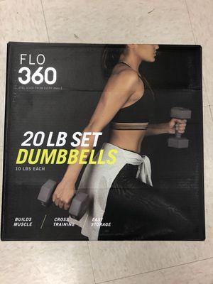 Dumbbell Set 20LB ( 10LB Each) for Sale in Hartford, CT