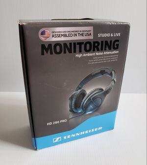 Sennheiser HD 280 PRO Studio Headphones Closed - Over Ear ProAudio DJ. for Sale in Adelphi, MD