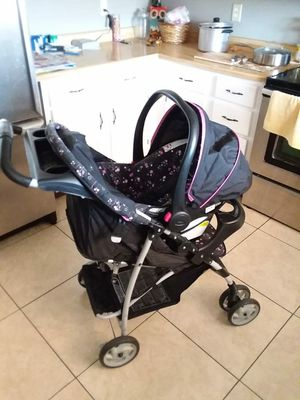 Stroller, car seat, & base! for Sale in Phoenix, AZ