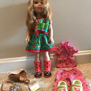 American Girl WellaWisher Willa Doll for Sale in Wexford, PA