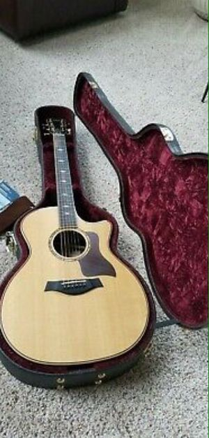 Taylor 814ce Grand Auditorium Acoustic Electric Guitar - Natural Sitka for Sale in Norfolk, VA
