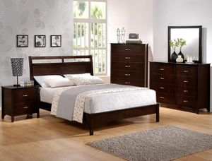 Brand new 4 pcs Queen Bedroom Set ( included free Queen Mattress set) for Sale in San Diego, CA