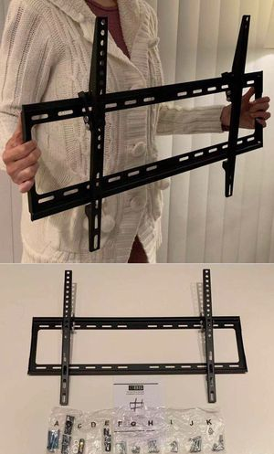 "NEW universal 32 to 65 inch LCD LED Plasma Flat Tilt TV Wall Mount stand 32 37"" 40"" 42 46"" 47 50"" 52 55"" 60 65"" inch tv television bracket with hardw for Sale in West Covina, CA"