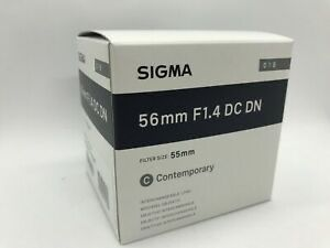 Sigma 56mm f 1.4 DC DN Contemporary Lens for Canon for Sale in San Antonio, TX