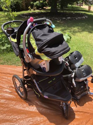 Baby Trend Jogging Stroller and Car seat Combo for Sale in Rockwall, TX